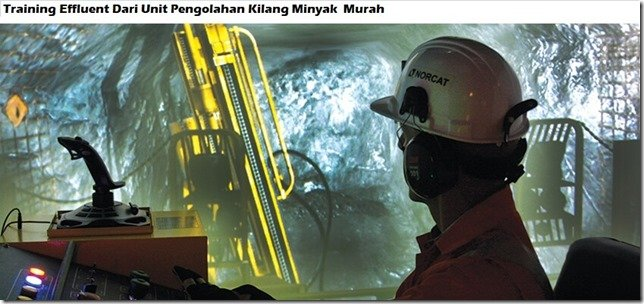 training effluent from oil refining unit murah